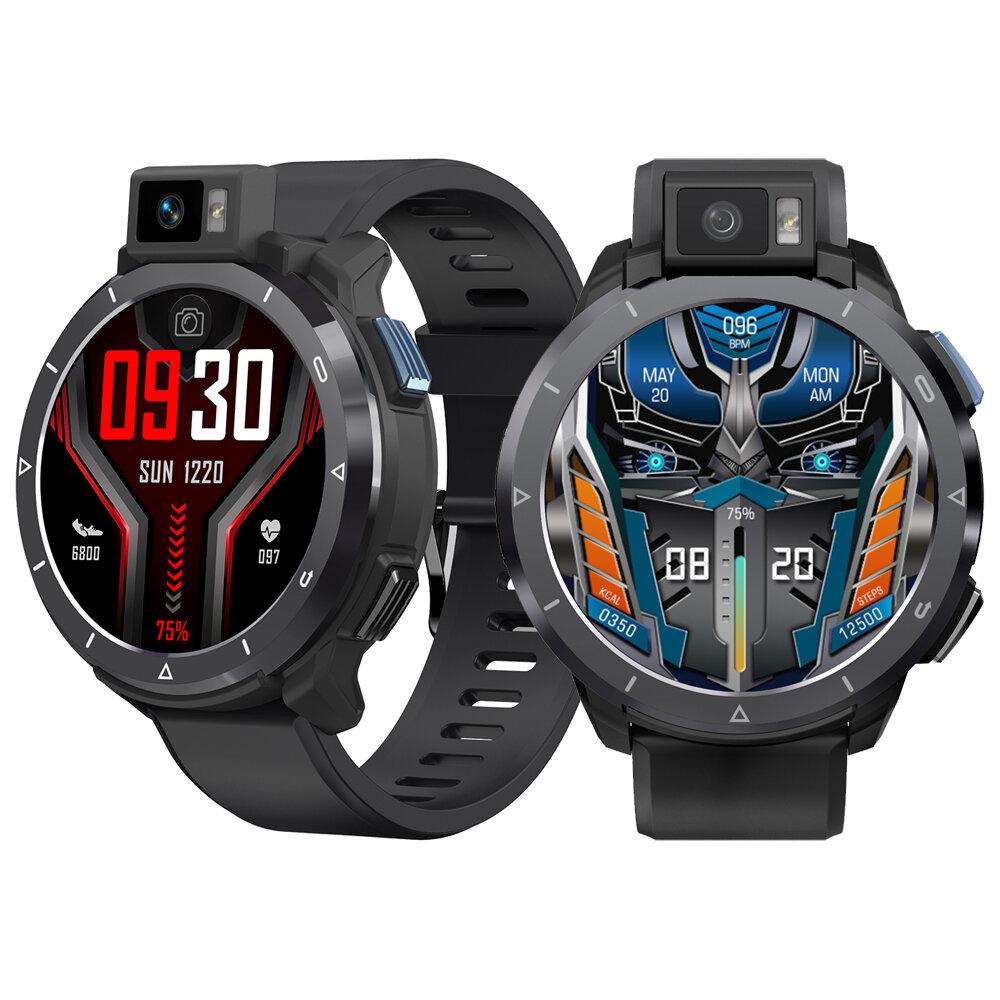 [Rotatable Flash Camera] KOSPET Optimus 2 Dual Mode Dual Chip 4G+64G Octa-core 4G-LTE Watch Phone GPS+Beidou Android 10.7 SpO2 Monitor Smart Watch