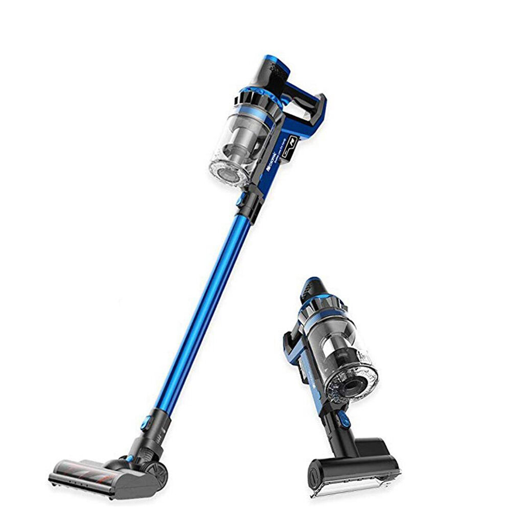 Proscenic P10 Cordless Stick Handheld Vacuum Cleaner 4 Cleaning Mode 22000Pa Power Suction LCD Touch Screen Detachable Battery Brushless Motor Lightweight for Home Hard Floor Carpet Car Pet