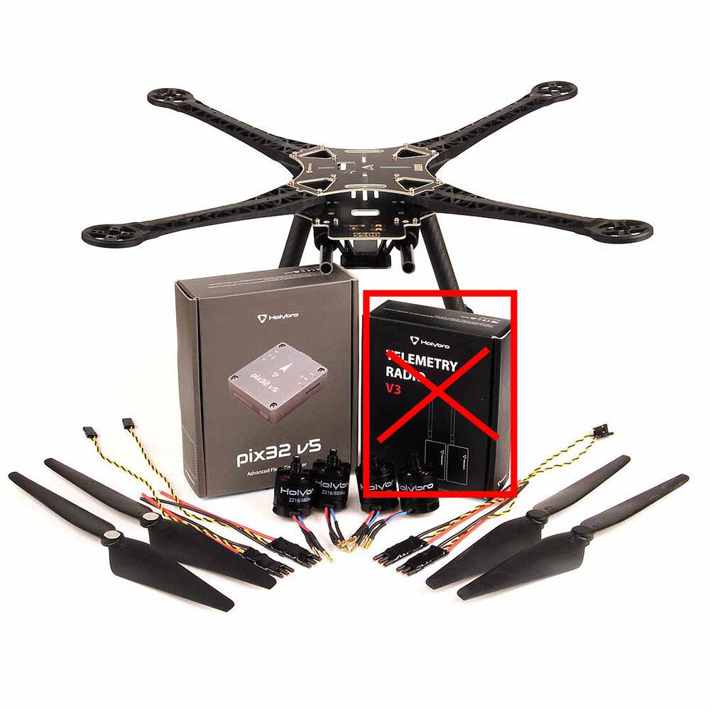 Holybro S500 V2 Kit Pix32 V5 Ardupilot 480mm Wheelbase 10 Inch FPV Racing Drone w/ 2216 880KV Motor 20A BL_S ESC Combo