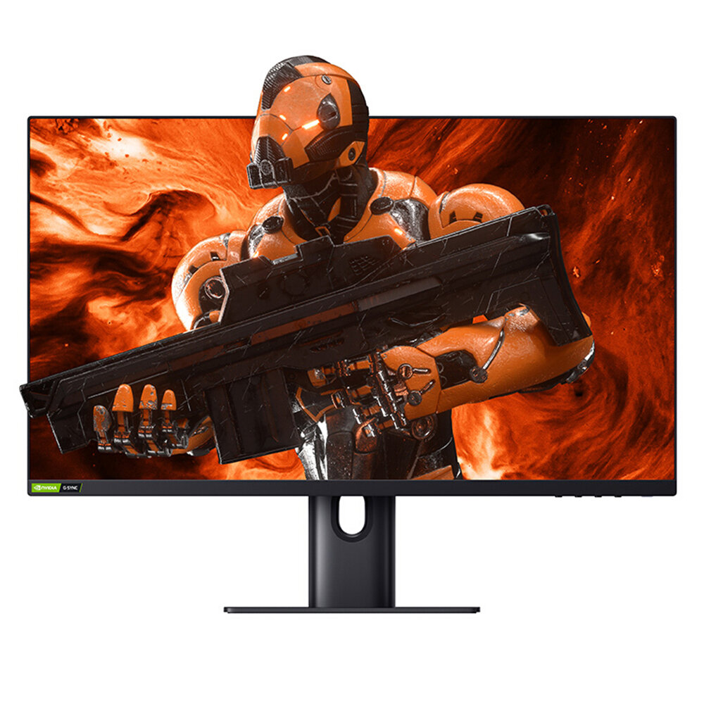XIAOMI 24.5-Inch IPS Monitor 165Hz G-SYNC Fast LCD 2ms GTG 400cd/㎡ 100% sRGB Wide Color HDR 400 Support Super-Thin Body Home Office Computer Gaming Monitor