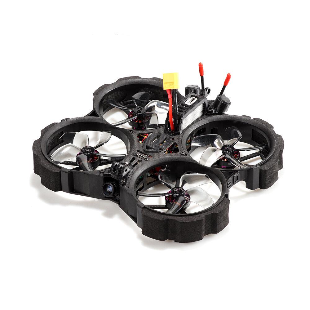 HGLRC Veyron Veyron30CR Cinewhoop HD 140mm 3 Inch FPV Racing Drone BNF w/ Zeus35 Pro AIO 35A ESC Caddx Polar Air Unit HD Digital System