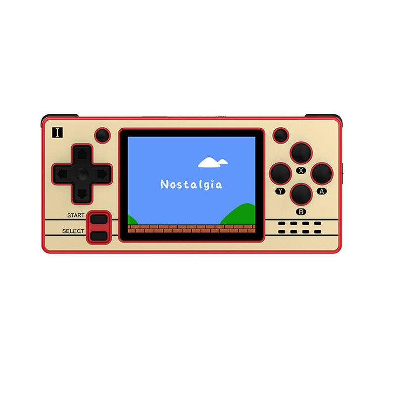 Powkiddy Q20 Mini 16G 32G 64G 5000 Games Retro Handheld Game Console for PS1 NES SFC MD 2.4 inch IPS Display Linux System Game Playe