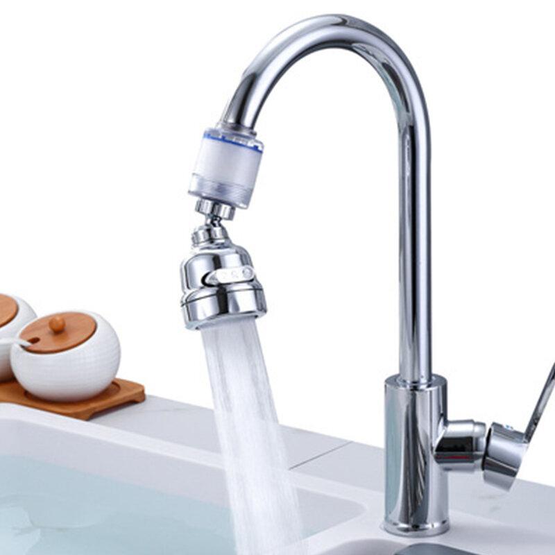 Three-speed Adjustable Splash-proof Pressurized Faucet Filter Aerator 360° Adjustment Easy Installation Universal Bubbler