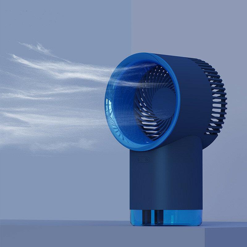 3Life Portable Mini USB Fan Desktop USB Moisturizing Mist Air Cooler 3 Gear Wind Speed Low Noise for Home Office Outdoor