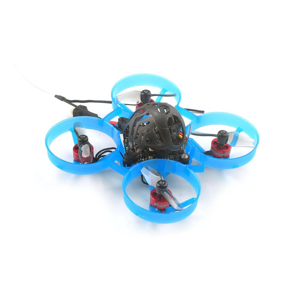 Happymodel Mobula6 ELRS 1S 65mm F4 AIO 5A ESC ELRS Receiver And 5.8G VTX Brushless Whoop FPV Racing Drone BNF w/ 0702 26000KV Motor RunCam Nano 3 Camera