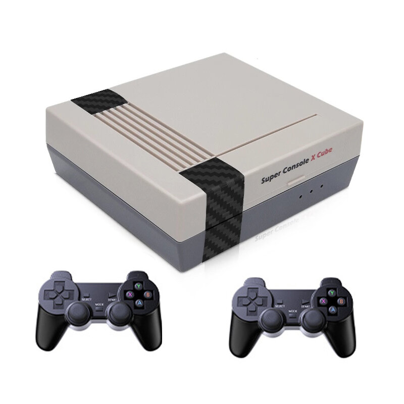 Super Console X Cube Amlogic S905 256GB 50000 Games Retro TV Game Console Wifi HD Game Player for PSP PS1 DC N64