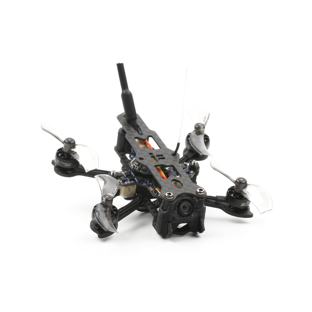 25.5g iFlight 1S Baby Nazgul Nano 73mm FPV Racing Drone BNF Runcam Atom 800TVL Cam SucceX F4 1S 5A AIO with built-in D8 Receiver 50mW VTX 0802 17000KV Motor -