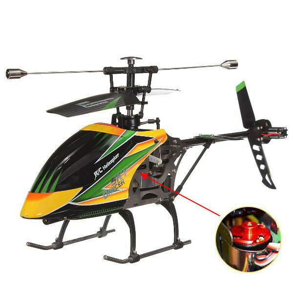 10% OFF for WLtoys V912 4CH Brushless RC Helicopter With Gyro BNF