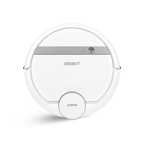 ECOVACS DEEBOT DE55 Navi 3.0 Technology Robot Vacuum Cleaner Silent Operation - Silk White