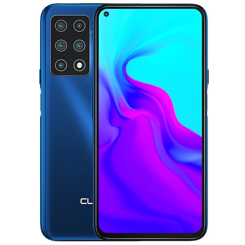 Cubot X30 4G Smartphone 48MP Five Camera 32MP Selfie NFC 6.4 inch FHD + Fullview Display Android 10 Helio P60 Global Version - Blue 8GB+256GB