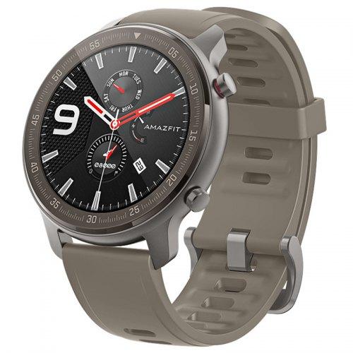AMAZFIT GTR 47mm Smart Watch Titanium Edition 24 Days Battery Life 5ATM Waterproof GPS GLONASS 12 Sports Modes 326ppi AMOLED Screen Global Version ( Xiaomi Ecosystem Product ) - Light Khaki