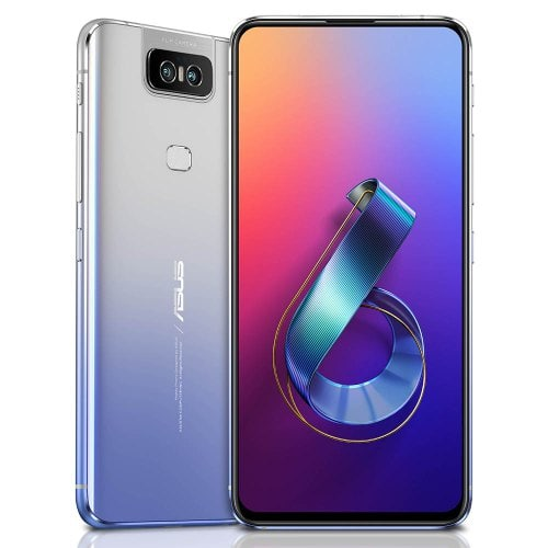 ASUSZenfone6  6GB+64GB   GlobalVersion-Silver