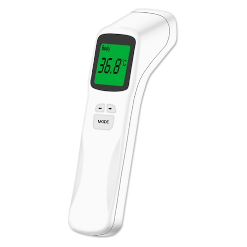 Digital Infrared Forehead Thermometer Non-contact Temperature Measurement Tool for Children Adults - White