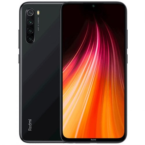 Xiaomi Redmi Note 8 4G Phablet Global Version 4GB RAM 128GB ROM - Black