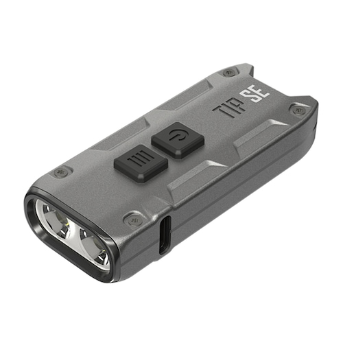 NITECORE TIP SE Dual-core Metal Keychain Lamp LED Light 700lm - Gray