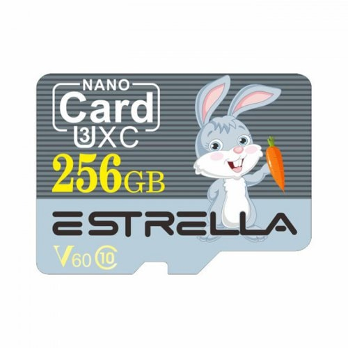 ESTRELLA U2 / U3 V60 High Speed High Capacity Micro SD Card/256G