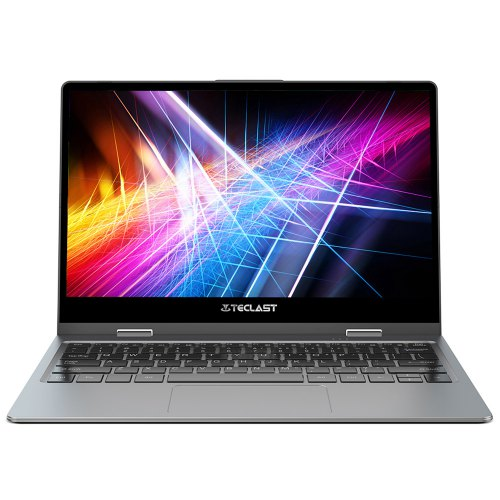 Teclast F5 11.6 inch Laptop 360° Convertible Touch Screen Intel N4100 8GB / 256GB - Gray Goose