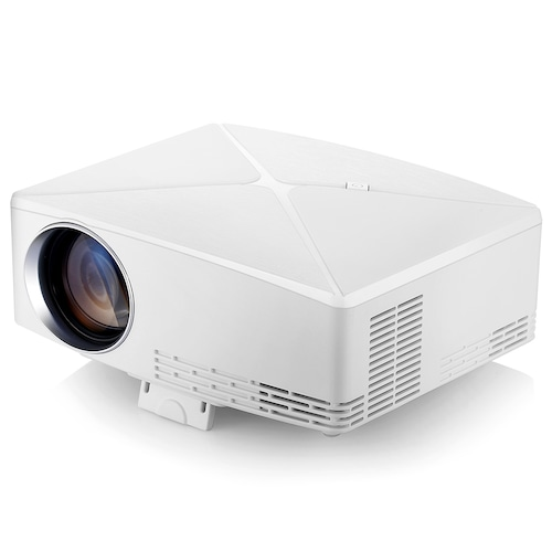 VIVIBRIGHT C80 LCD Home Theater Projector - White Android Version EU Plug