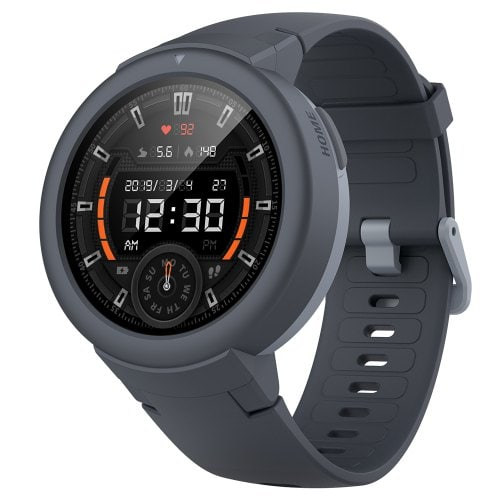 AMAZFIT Verge Lite Bluetooth Sports Smartwatch Global Version - Light Slate Gray