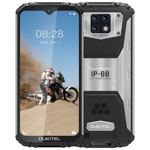 OUKITEL WP6 4G Smartphone 10000mAh Battery 6.3 inch 16MP + 5MP + 0.3MP Rear Camera 8MP Front Camera - Black Standard Edition