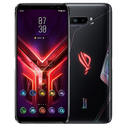 Official Original ASUS ROG Phone 3 Gaming 5G Smartphone 6.59 inch Phablet International Version - Black 12GB+256GB