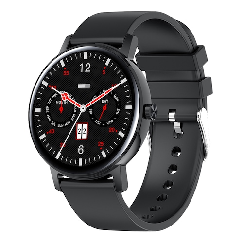 CORN WB05 Bluetooth Call Smart Watch 90 Days Standby 1.2 inch 390 X 390 AMOLED Full Touch Screen 8 Sports Modes IP67 Waterproof Smart Watch - Black