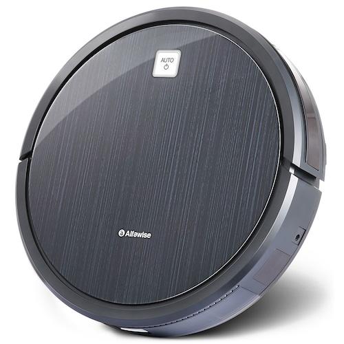 Alfawise V8S Robot Vacuum Cleaner Dual SLAM - Black