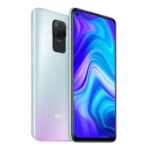 Xiaomi Redmi Note 9 4G Smartphone MTK Helio G85 Octa Core 2.0GHz 6.53 inch 48MP + 8MP + 2MP + 2MP 5020mAh Battery NFC EU Version - White 4GB+128GB