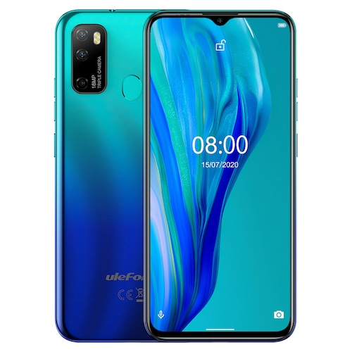 Ulefone Note 9P 4G Phablet 6.52 inch Global Version - Blue For Other Area