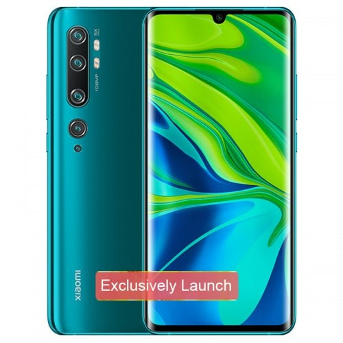 Xiaomi Mi Note 10 (CC9 Pro) 108MP Penta Camera Phone Global Version - Green