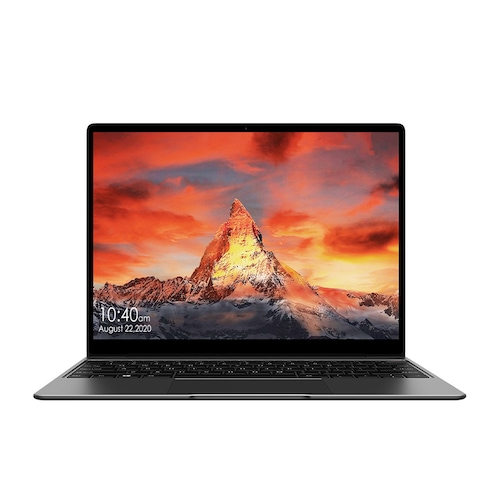CHUWI GemiBook 13 inch Laptop 2K IPS Screen LPDDR4X 12GB 256GB SSD Intel Celeron Quad Core Windows 10 Notebook with Backlit Keyboard - Carbon Gray