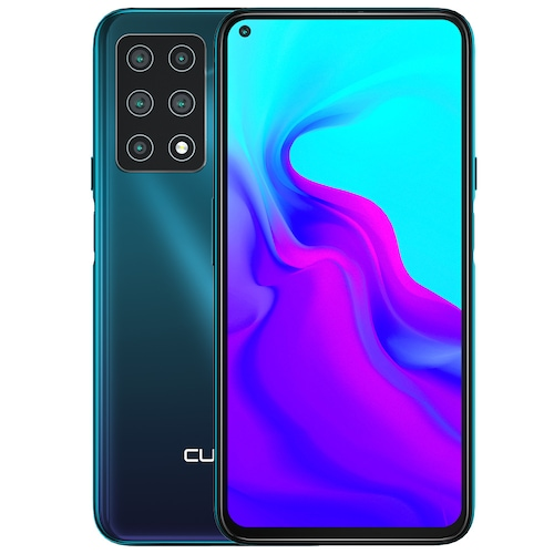 Cubot X30 4G Smartphone 48MP Five Camera 32MP Selfie NFC 6.4 inch FHD + Fullview Display Android 10 Helio P60 Global Version - Green 6GB+128GB