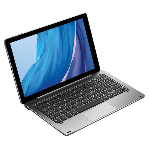 CHUWI Hi10X 10.1 Inch Tablet PC Intel Gemini Lake N4100 Quad Core CPU Windows 10 OS 6GB LPDDR4 128GB EMMC with Keyboard Stylus Pen - Gray SET