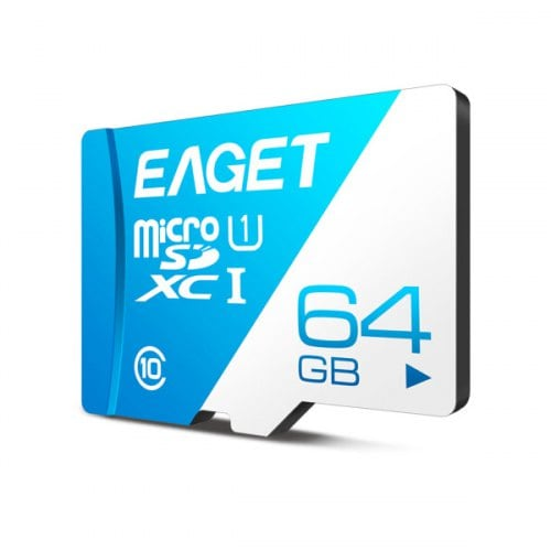 EAGET T1 High Speed UHS-I Flash TF Micro Memory Card/64G
