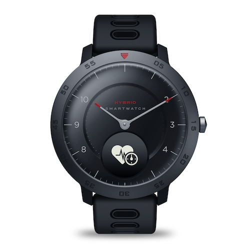 HYBRID Heart Rate Blood Pressure Monitor Smartwatch Hidden Touch Screen  Sports Tracking Smart Watch With Notifications