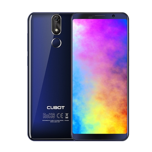 Cubot Power 6000mAh Helio P23 Octa Core 6GB RAM 128GB ROM 5.99inch FHD+ Android 8.1 Smartphone 16.0MP 6P lens Telephone Type-C 4G - Blue Poland	104998717283381025
