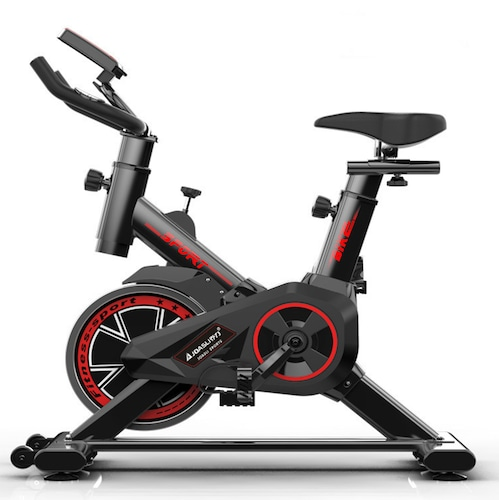 Indoor Recumbent Exercise Bike Folding Bike Home Gym Reebok Exercise Bike Fitness Equipment Sport Cycling Bike for Weight Loss - Black France