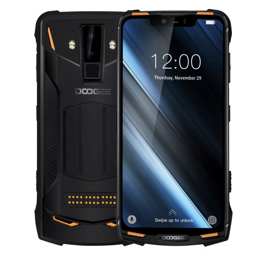 DOOGEE S90 Modular Rugged Android Mobile Phone 6.18inch 5050mAh Helio P60 Octa Core 6GB 128GB 16.0MP