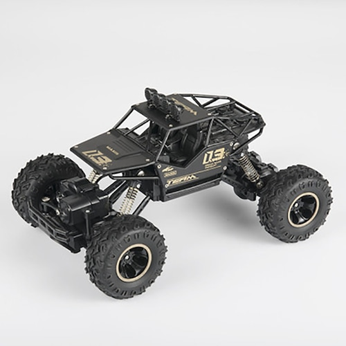 4WD RC Car Updated Version 2.4G Radio Control RC Car Toys Remote Control Car Trucks Off-Road Trucks boys Toys for Children - alloy 28cm 1 CN