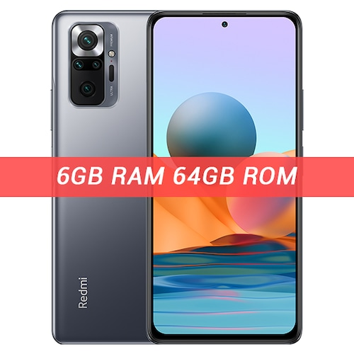 Global Version Xiaomi Redmi Note 10 Pro Smartphone