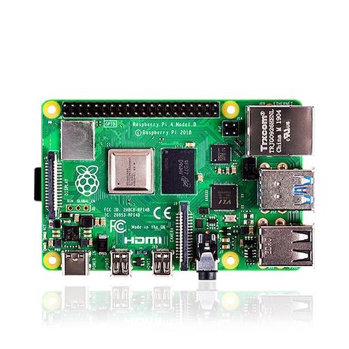 Raspberry Pi 4 Kit Raspberry Pi 4 Model B PI 4B 2GB 4GB Board+Heat Sink+Power Adapter+Case +32 64 128GB SD+HDMI Cable - 2GB Single