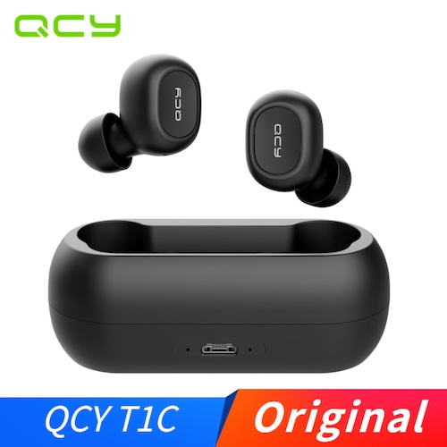 QCY T1C Wireless Bluetooth Earphones Headset