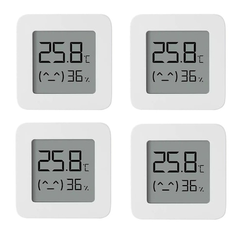 XIAOMI Mijia Bluetooth Thermometer 2 Wireless Smart Electric Digital Hygrometer Thermometer - China 4pcs