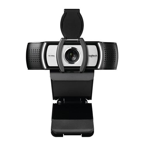 Logitech C930c/C930e 1080P HD Video Webcam Auto Focus Dual Stereo 90-Degree Extended View Microsoft Lync 2013 And Skype Certified - Black