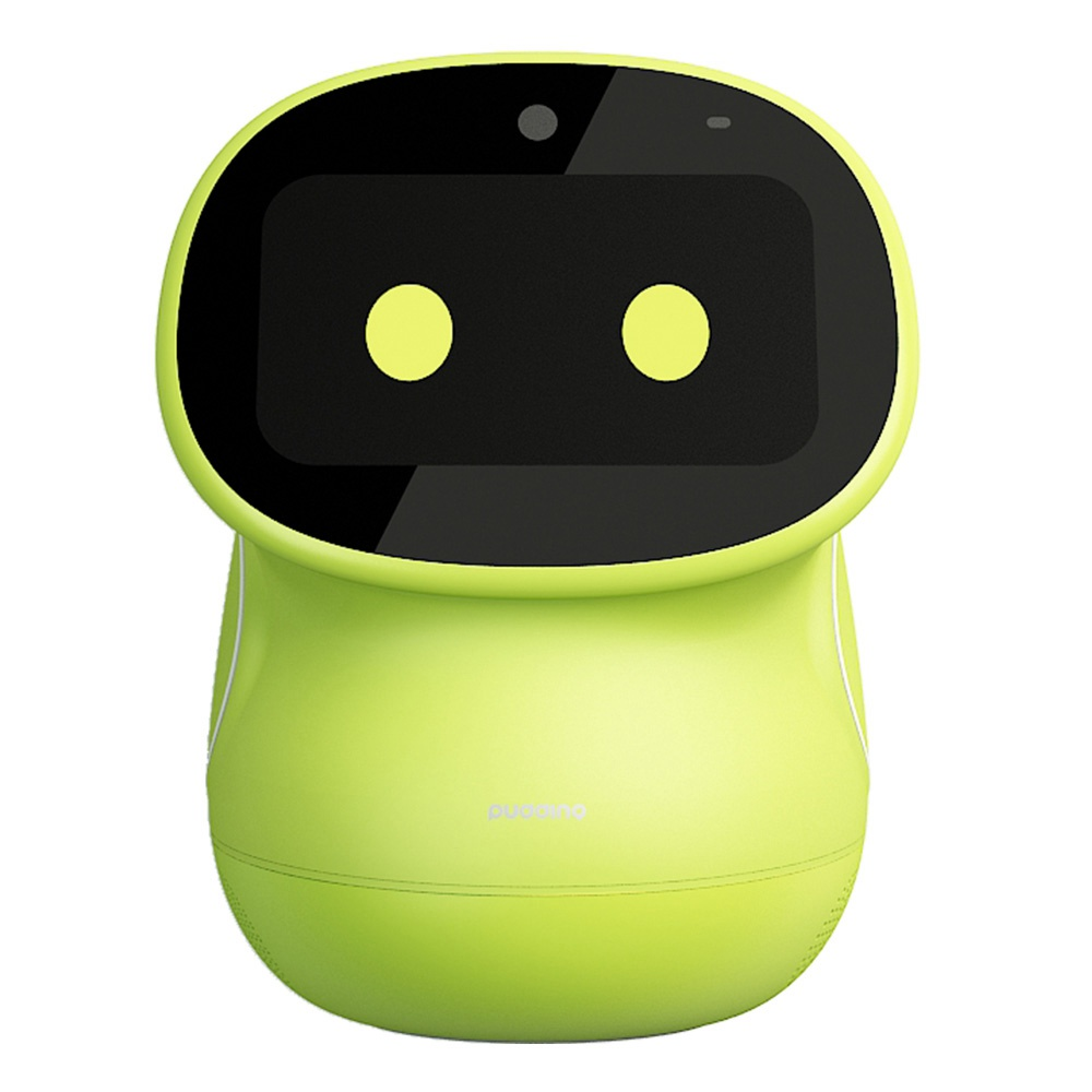 Original Pudding BeanQ Smart Robot Mobile Version Learning English Video Call Early Education Machine - Green
