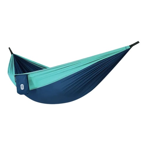 Xiaomi Mijia Zaofeng Outdoor Hammock 300KG Load-Bearing Weight Quickly Build Design Prevent Side Flipping - Dark Blue + Light Blue
