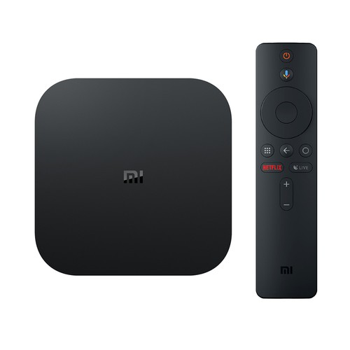 XIAOMI Mi Box S Android 8.1 Netflix 4K 2GB/8GB 4K TV Box with Voice Remote Dolby DTS Google Assistant Chromecast AC WiFi Bluetooth International Version