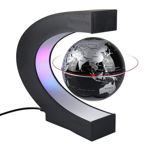 C Shape Magnetic Levitation Globe