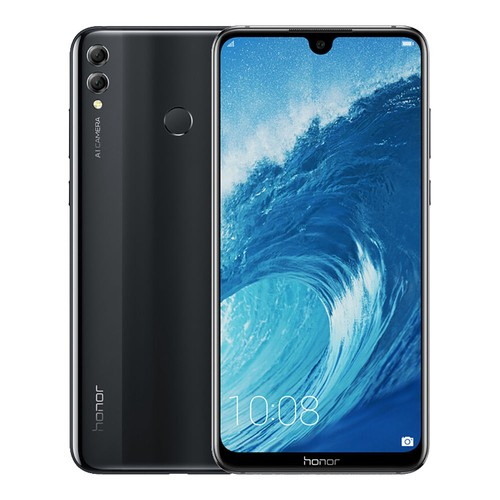 HUAWEI Honor 8X Max 7.12 Inch 4G LTE Smartphone Snapdragon 636 4GB 128GB 16.0MP+2.0MP Dual Rear Cameras Android 8.1 Touch ID Fast Charge 5000mAh - Black