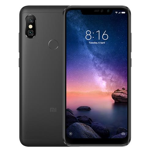 Xiaomi Redmi Note 6 Pro 6.26 Inch 4G LTE Smartphone Snapdragon 636 4GB 64GB 12.0MP + 5.0MP Dual Rear Cameras MIUI 9 Face ID FHD+ Screen Global Version - Black